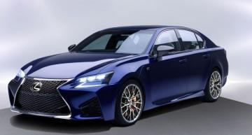 Lexus GS F dezvăluit înainte de debutul de la Detroit