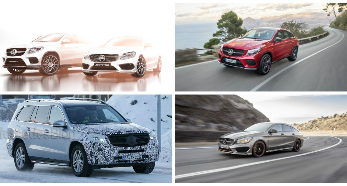 Cinci modele noi Mercedes-Benz la Salonul de la Detroit 2015