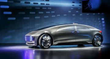 Oficial: Conceptul Mercedes F 015 Luxury in Motion debutează la CES 2015
