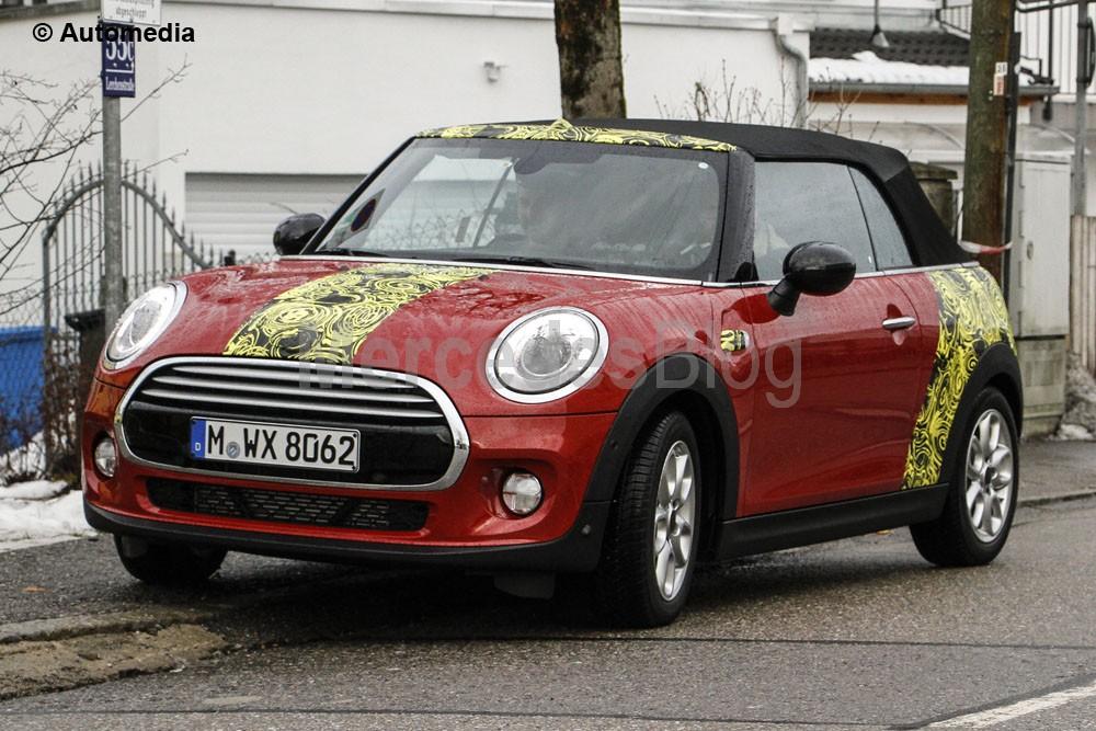 MINI Cabrio și MINI Clubman spionate în timpul testelor în Munich