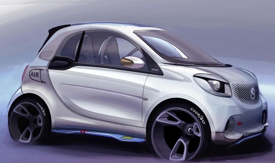 Smart ForTwo Cabrio va debuta până la finele acestui an