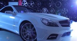 Vossen transformă un Mercedes-Benz SL în vedetă. VIDEO
