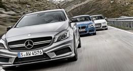 Mercedes-Benz și-a surclasat eternul rival BMW, în ianuarie
