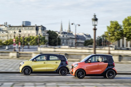 Der neue smart fortwo & forfour 2014, Paris The new smart fortwo