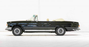 Brabus scoate la vânzare un Mercedes-Benz 280 SE din 1970