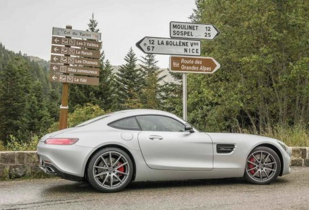 Alpes, France AMG GT S