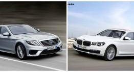 Înfruntarea titanilor: noul BMW Seria 7 vs Mercedes Clasa S