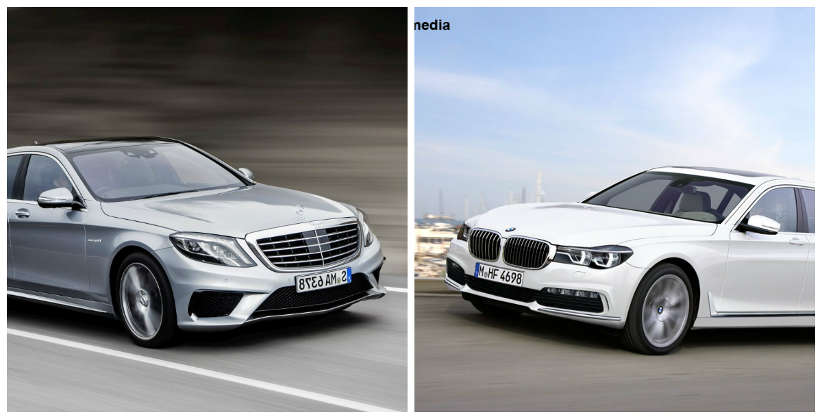 206 Nfruntarea Titanilor Noul Bmw Seria 7 Vs Mercedes Clasa S Mercedesblog Ro