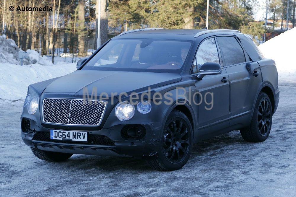 Bentley Bentayga spionat din nou. Urmează răspunsul Mercedes-Maybach