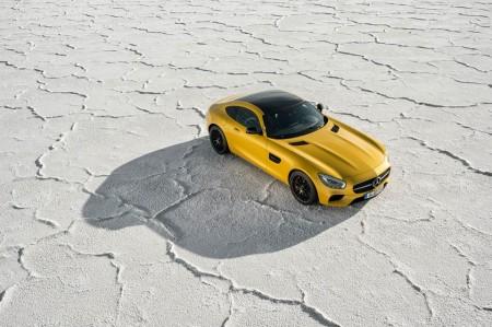 Boneville Salt Flats AMG GT S