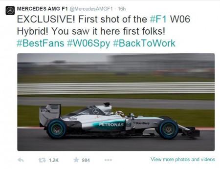 F1 W06 Hybid