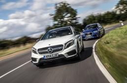 Test Car Magazine: Mercedes-Benz GLA 45 AMG vs. Audi RS Q3