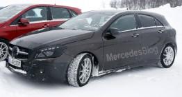 Mercedes-Benz A-Class Facelift – cele mai recente fotografii spion