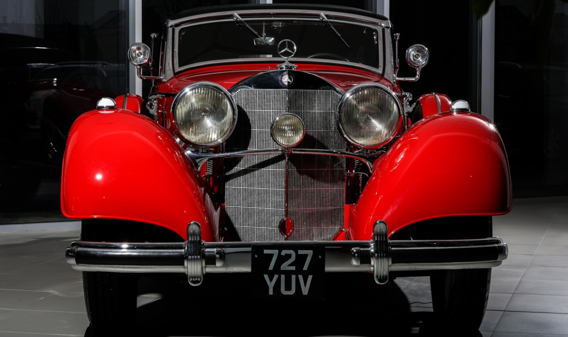Diamantul Țiriac Collection: Mercedes-Benz 540 K Cabriolet A