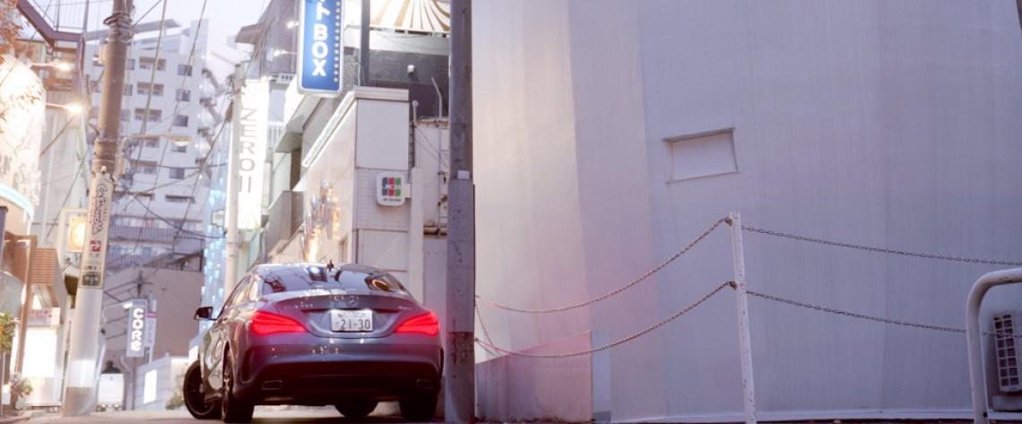 Mercedes-Benz CLA la Tokyo – Lecția de arhitectură