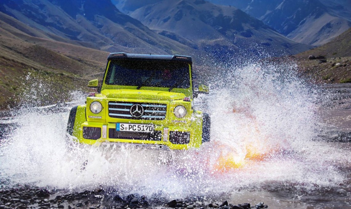 Mercedes de aventuri extreme: Mercedes-Benz G500 4×4². Video