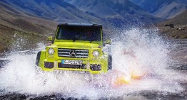 Mercedes de aventuri extreme: Mercedes-Benz G500 4×4². Video