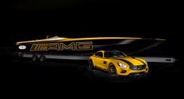 Conceptul Cigarette Racing 50 Marauder GT S inspirat de Mercedes-AMG GT S