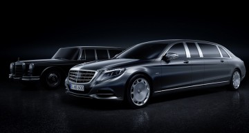 Mercedes-Maybach S-Class Pullman – primele imagini şi informaţii oficiale