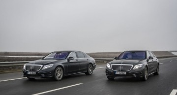 Test de consum: Mercedes S 500 Plug-In Hybrid vs S 350 BlueTec