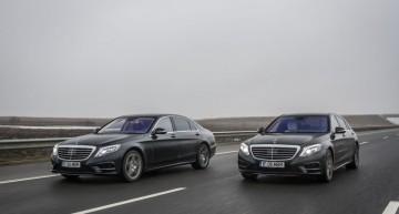 Test de consum: Mercedes S 500 Plug-In Hybrid vs S 350 BlueTec