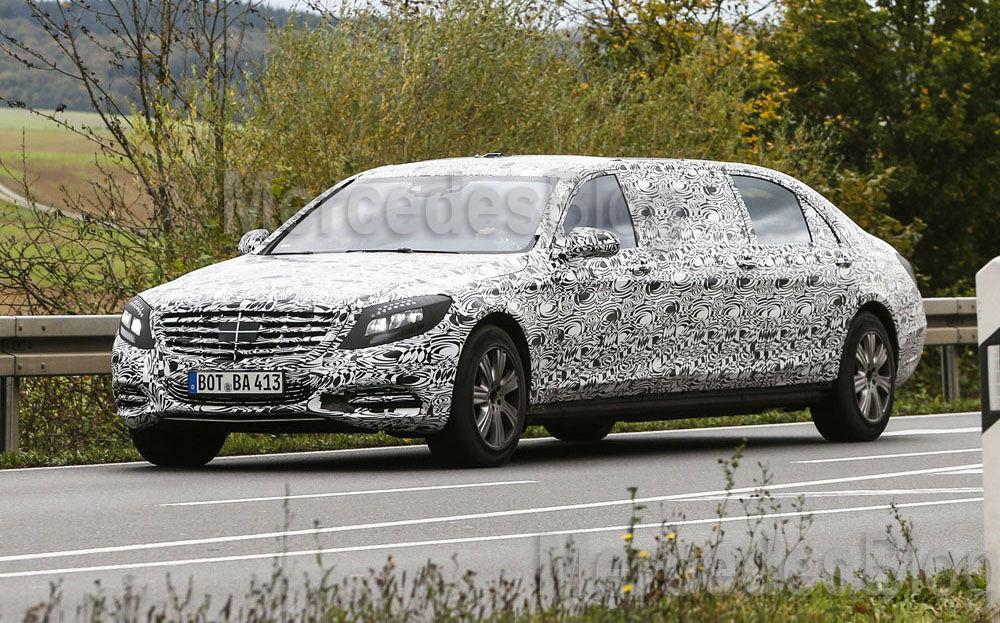 Doar pentru plutocraţi: Mercedes-Benz S-Class Pullman soseşte la Geneva
