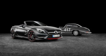Mercedes-Benz SL 417 Mille Miglia celebrează 60 de ani de victorii