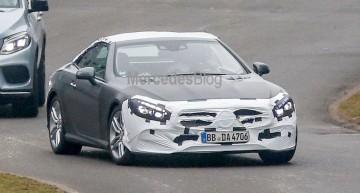 Design proaspăt pentru Mercedes-Benz SL facelift – primele fotografii spion