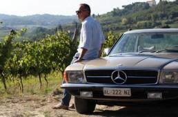 Omul care face vin și mașina care scrie istorie: Mercedes-Benz SLC Pagoda