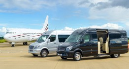 Jet Sprinter: Van la exterior, avion la interior