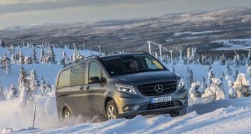 Mercedes-Benz Vito 4×4: mai multă tracțiune pentru afacerea ta