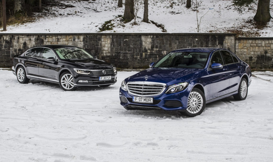 Volkswagen Passat 2.0 BiTDI 4MOTION vs. Mercedes-Benz C 250 BlueTEC