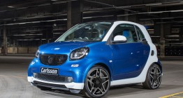 smart fortwo CK10 Carlsson. Cel mai fioros smart?
