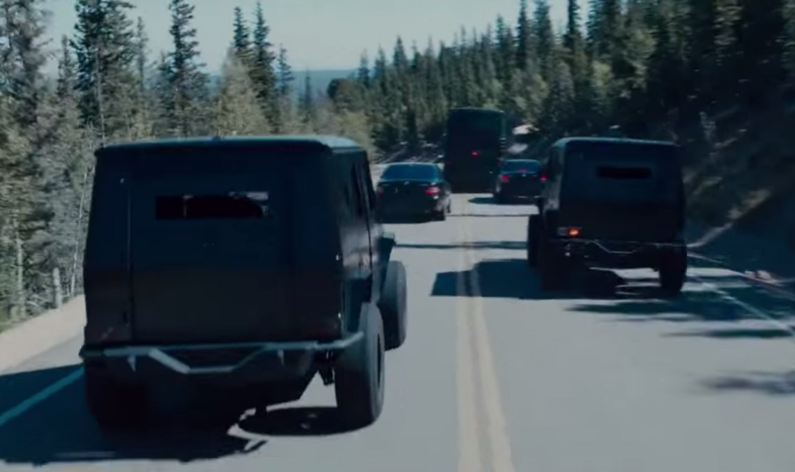 Mercedes-Benz G-Class blindat, printre vedetele din trailerul extins Fast and Furious 7
