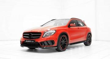Mercedes GLA cu pachetul AMG Sport primește un cadou de la Brabus