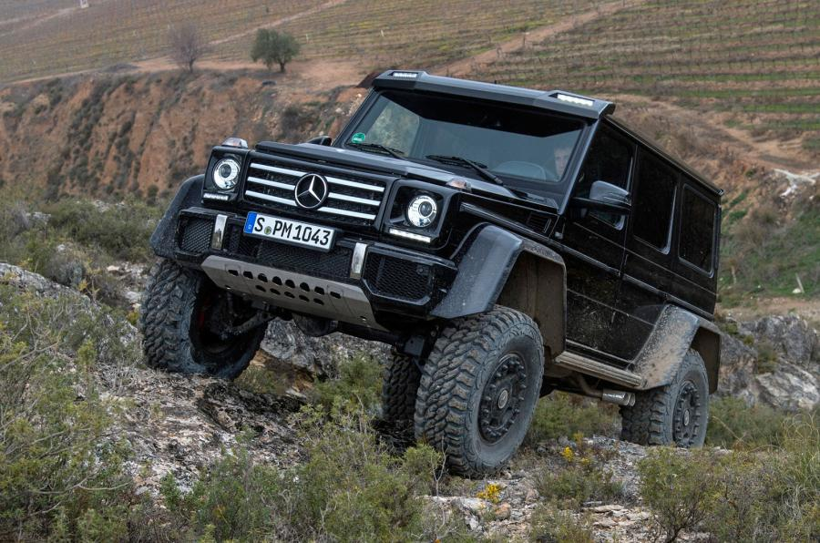 Primul test Mercedes-Benz G500 4×4². Citiți verdictul Autocar