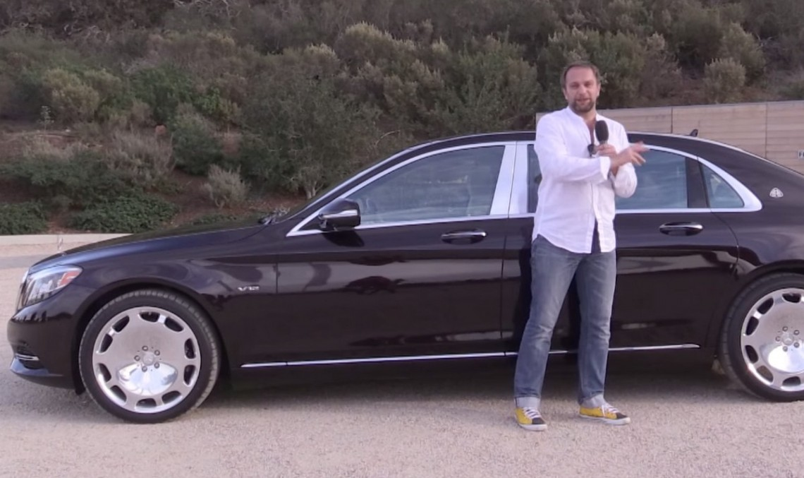 VIDEO: Mercedes-Maybach S 600 testat în Santa Barbara de Ausfahrt.tv