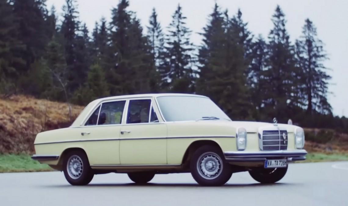 VIDEO. Acest Mercedes-Benz 280 este o mașină a timpului