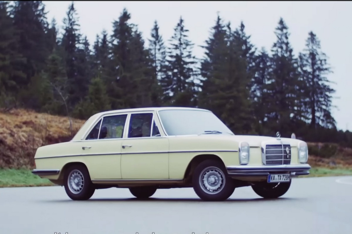Video Acest Mercedes Benz 280 Este O Mașină A Timpului