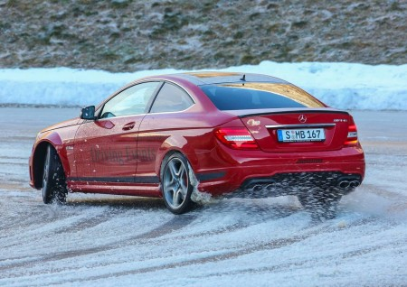 Mercedes-Benz Winter Driving Event