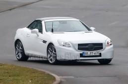 Primele instantanee cu Mercedes-Benz SLK 2016 facelift