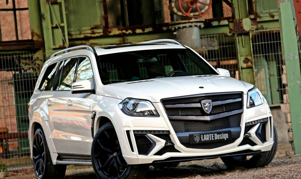 Larte Design ia un Mercedes-Benz GL și îl încoronează regele SUV-urilor
