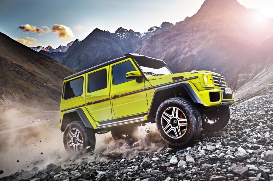 Frate cu T-Rex: Mercedes-Benz G 500 4×4² – primele detalii