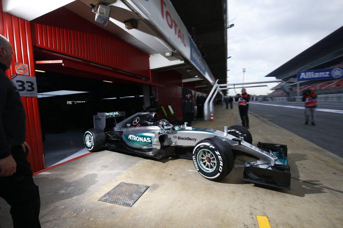 Teste F1 Barcelona poza 1
