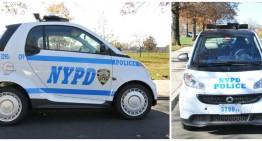 Mașina cu care merg polițiștii în New York