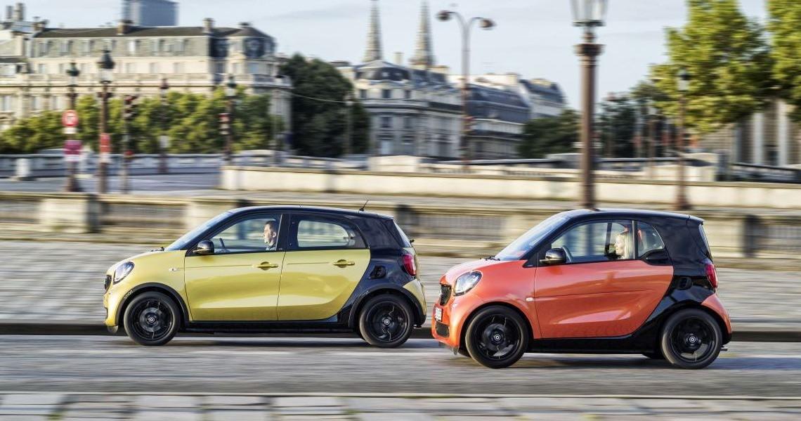 Daimler estimează că noua familie Smart va fi rentabilă