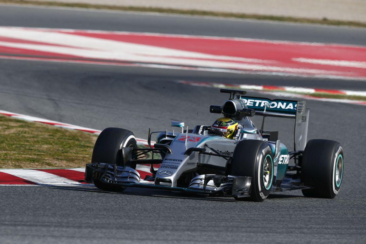 teste barcelona F1 2015 1