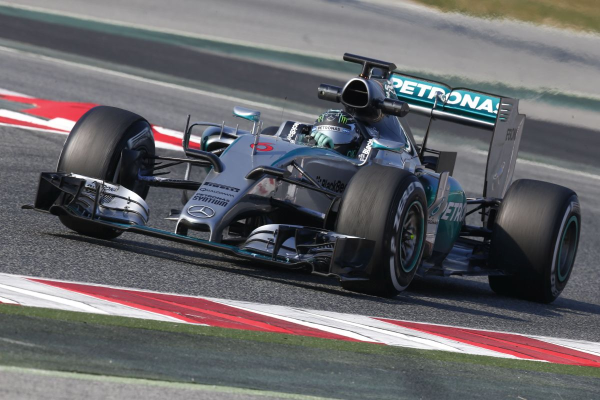 teste barcelona F1 2015 2