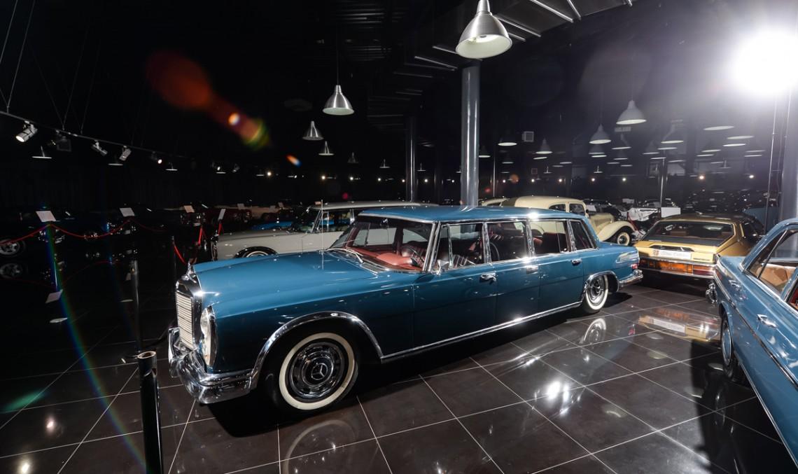 Încă un exponat nepreţuit din Ţiriac Collection: Mercedes-Benz S 600 Pullman