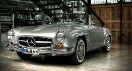 60 de ani de la debutul legendarului Mercedes 190SL